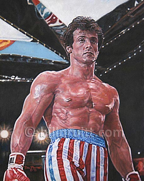 Sylvester Stallone's Body: From Soft-Core To Adonis And